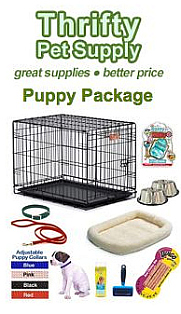 Thrifty Pet Supply Puppy Package